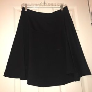 Black Flouce Skirt